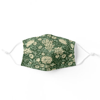 William Morris 'Cherwell' Pattern Adult Cloth Face Mask