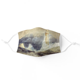 William Turner - Bell Rock Lighthouse Adult Cloth Face Mask