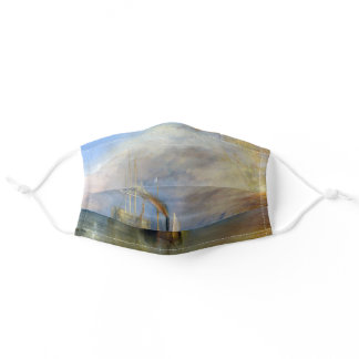 William Turner - The Fighting Temeraire Adult Cloth Face Mask