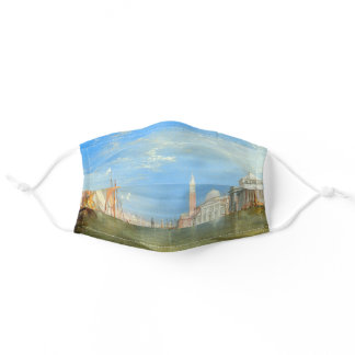 William Turner - Venice, The Dogana & San Giorgio Adult Cloth Face Mask
