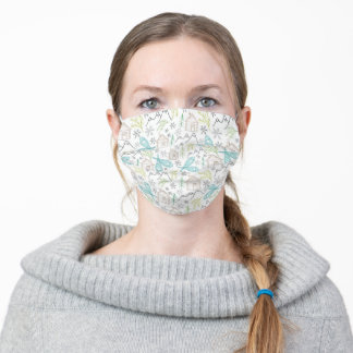 Winter Cabin Life — Adult Face Mask