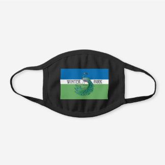 Winter Park, Florida Flag Cotton Face Mask