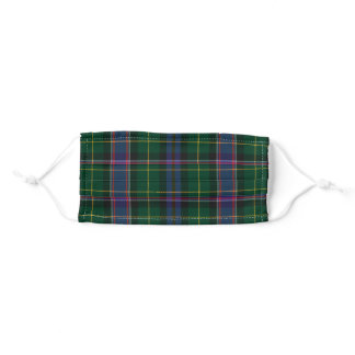 Wisconsin State Tartan Adult Cloth Face Mask