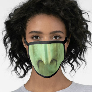Witch Scary Green Halloween Face Mask