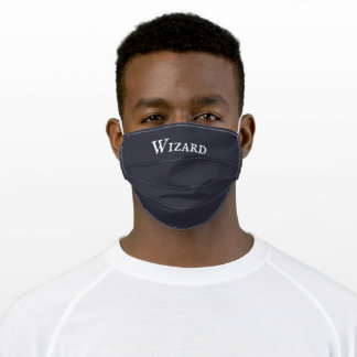 """Wizard"" Adult Cloth Face Mask"