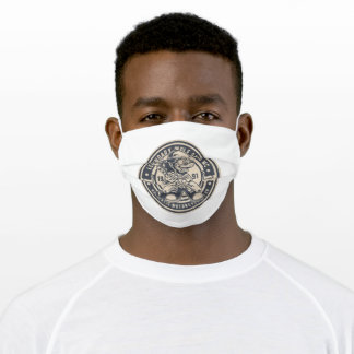 Wolf gang motorclub adult cloth face mask