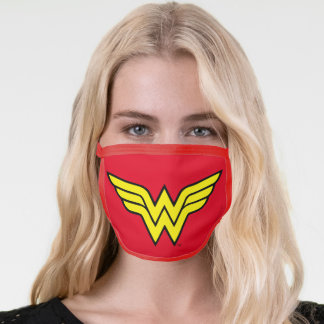 Wonder Woman | Classic Logo Face Mask