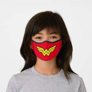 Wonder Woman | Classic Logo Premium Face Mask