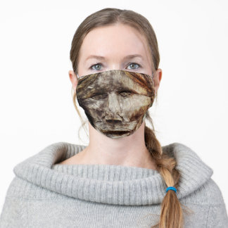 Wooden Stare Adult Cloth Face Mask