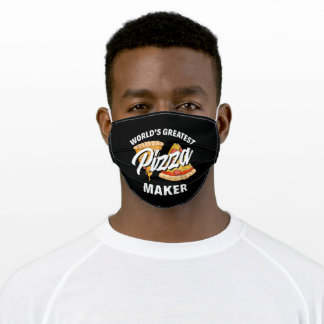 World Greatest Pizza Maker Adult Cloth Face Mask