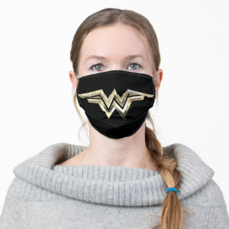 WW84 | Golden Wonder Woman Logo Adult Cloth Face Mask