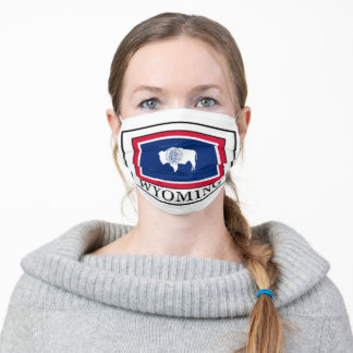 Wyoming Adult Cloth Face Mask