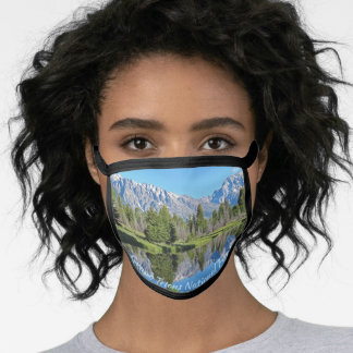 Wyoming Grand Tetons National Park Face Mask