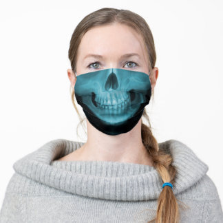 X-Ray Skull Adult Cloth Face Mask