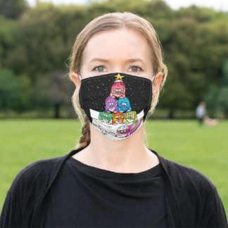 Yappy Chowlidays face mask