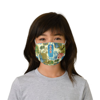 YEAR OF THE OX pattern Kids' Cloth Face Mask