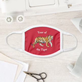 Year of the Tiger All-Over Print Face Mask