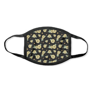 Yellow Roses   Graphic Floral Face Mask