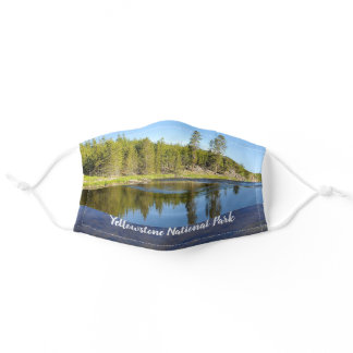 Yellowstone National Park River Adult Cloth Face Mask