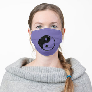 Yin Yang design Adult Cloth Face Mask