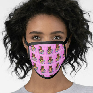 YORKIE POO FACE MASK