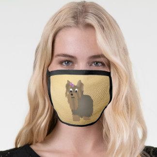 Yorkshire Terrier All Over Facemask Face Mask