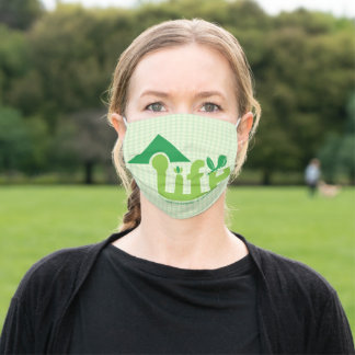 You have the power to change the world adult cloth face mask