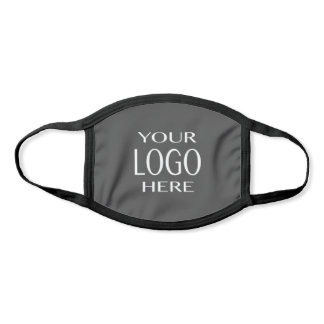 Your Logo | Simple Logo Replacement/Grey Face Mask