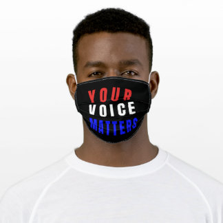 Your Voice Matters Adult Cloth Face Mask