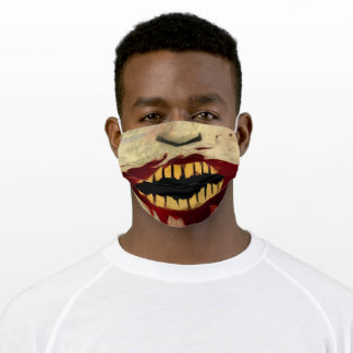 Zombie Mouth Cloth Face Mask
