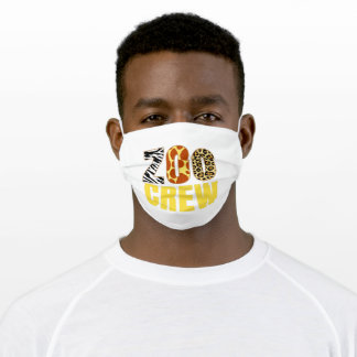 Zoo Crew Adult Cloth Face Mask